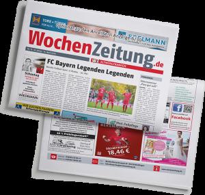 Wochenzeitung - Mockup