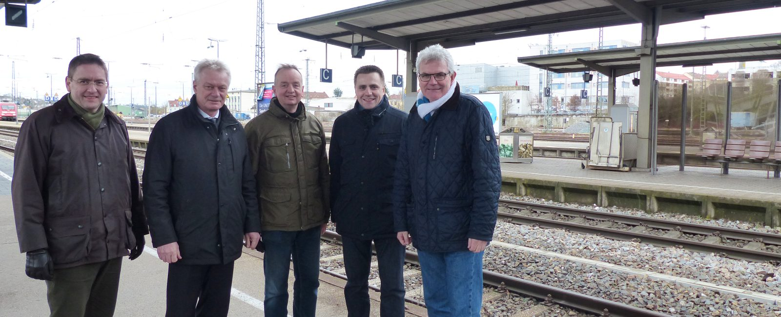 Ausbau Bahnhof Ansbach